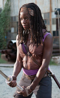Michonne_Say_The_Word_3 the walking dead